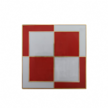 Polish Air Forces (Siły Powietrzne) Checkerboard Roundel Pin Badge